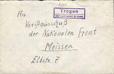 Letter m. land postmark Trogen over Lang to 1960