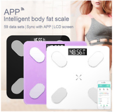 Digital Body Fat Scales Bluetooth Electronic  Bathroom Weight Scales