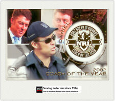 2003 Select NRL XL Dally M Subset DM7: Daniel Anderson (Coach Of The Year 2002)
