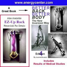 Teeter Hang Ups Inversion Table  Back BOOK  Book