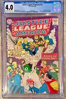 JUSTICE LEAGUE OF AMERICA (DC/1963) #21-22 CGC 4.0 1ST JLA MEETS JSA