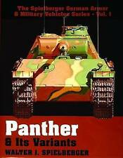 PANTHER ITS VARIANTS (Spielberger German Armor & Military Vehicles), Good Condit