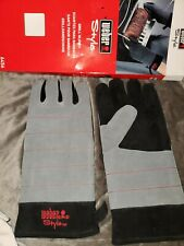 Weber Style Grill Gloves Heat Resistant Barbecue Comfort Outdoor Gas/Grill
