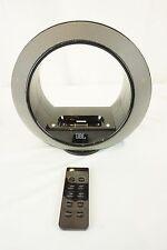 JBL Radial Micro 700-00620 iPhone iPod Dock Speaker Bundle AC Adapter W/ Remote