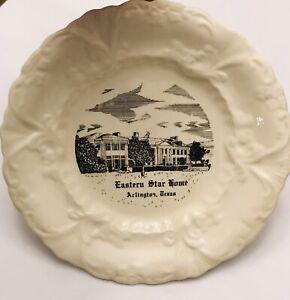 Eastern Star Home Plate Souvenir Hanging Spring Vintage Masonic FreeMason Great