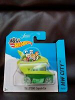 HOTWHEELS THE JETSONS CAPSULE CAR FROM HW CITY COLLECTION