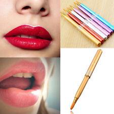 MakeUp Women Portable Retractable Cosmetic Lip Brush Gloss Lipstick Beauty New
