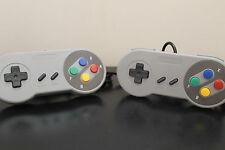 2 Retro Super Nintendo SNES USB PC/MAC Controllers New! Plug n Play - Cdn Seller