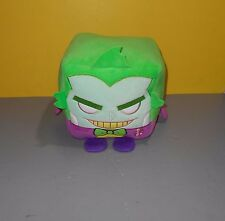 "NEW WishFactory Kawaii Cubes Series Batman The Joker - Large 8"" Cube Bean Plush"