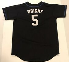 Majestic David Wright Womens Jersey Black Retro Throwback XL Shea Stadium
