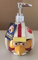 New Angry Birds Star Wars Soap/Lotion Pump Kids Bathroom Dispenser