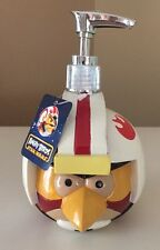 New Angry Birds Star Wars Soap/Lotion Pump Kids Bathroom Dispenser