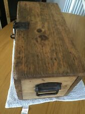 VINTAGE / ANTIQUE SHABBY CHIC RUSTIC ORIGINAL PINE BOX