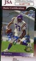 Roger Craig 1993 Upper Deck Jsa Coa Hand Signed Authentic Autograph