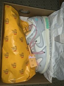 Nike Dunk Low x Off White • Lot 9 • Size 11.5