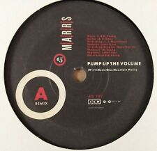 """Marrs : Pump Up The Volume : Vintage 7"""" Single from 1987"""