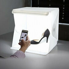 Folding Portable Lightbox Studio Take Pictures LED Small Photography Studio New