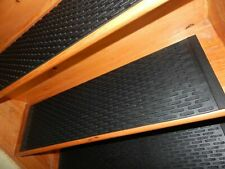 5  STEP = 9.1/4'' x 34'' 100% Rubber Outdoor/ Indoor Stair Treads Non Slip.