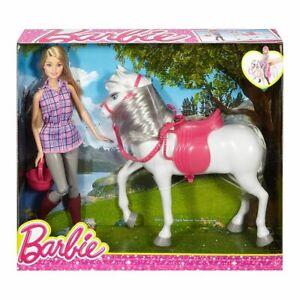 Mattel DHB68 - Barbie - Puppe mit Pferd