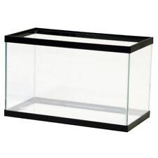 10 Gallon Fish Tank Rectangular Aquarium Reptile Turtle Terrarium Silicone Glass