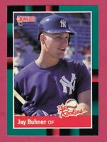 1988 Donruss Rookies # 11 Jay Buhner -- New York Yankees