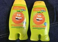 Avon Kids Outgoing Orange Body Wash & Bubble Bath  In One 8.4oz. NEW Lot Of 2