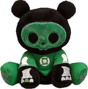 "Skelanimals - Green Lantern Chungkee 6"" Mini Plush-TOY2220"