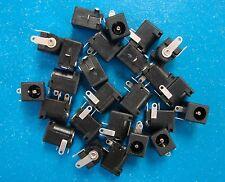 TDC002 PCB Mount 2.5mm DC Power Supply Jack 3-Pin, 2.5x5.5mm, Qty.25