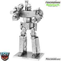 MU Transformers G1 Cassette Tape Laserbeak Ravage Frenzy DIY 3D Metal Puzzle Toy