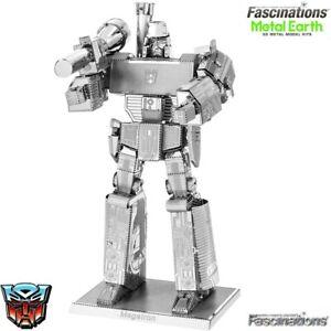 Metal Earth Transformers Megatron 3D Laser Cut DIY Model Building Kit Puzzle Toy