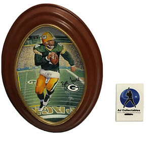 Mudbowl Brett Favre Green Bay Packers NFL Football Framed Plate 6262A MH-A4