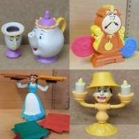 McDonalds Happy Meal Toy Beauty & Beast Movie Plastic Toys - Various Figures