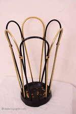 Kultiger 50er Schirmständer / Garderobe Metall / Nice Mid Century Umbrella Stand