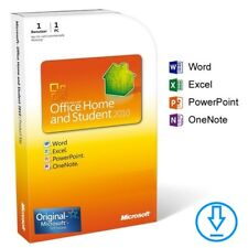 Microsoft Office 2010 Home and Student (Word, Excel, PowerPoint...) version complète