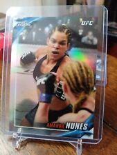 2019 Topps UFC Chrome Knockout #UFCK-AN Amanda Nunes REFRACTOR MMA