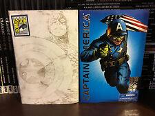 Hasbro Marvel Universe SDCC CAPTAIN AMERICA 2009 Black White 2010 WWII Ultimate