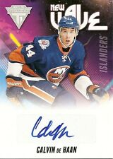 Calvin de Haan 2011-12 Panini Titanium Hockey New Wave Signatures
