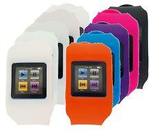 Rubz Confezione Di 2 Cinturino Orologio Custodia Cover Per Apple iPod Nano 6th
