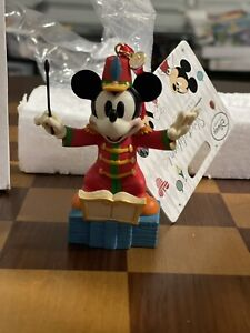 New! DISNEY STORE 2014 MICKEY MOUSE BAND CONCERT SKETCHBOOK CHRISTMAS ORNAMENT