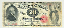 "$20 Series 1880 ""Hamilton"" United States Note very nice condition Friedberg 147"