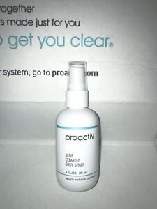 Proactive + Acne Cleansing Body Bar Salicylic Acid Treatment Spray - Brand New!