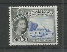 SOMALILAND PRO 1953 DEFINITIVE HIGH VALUE 1/30 SG,145 M/MINT LOT 5176A