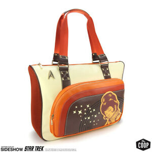 Star Trek TOS Retro Uhura Messenger Bag - Coop Official, Space Laptop Tote - NEW