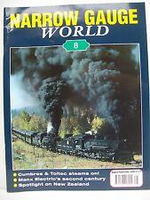 Narrow Guage World Magazine. Issue no. 8. Volume 1, No. 8. August/September 2000