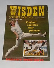 WISDEN CRICKET MONTHLY JANUARY 1984 - ENGLAND CAPTAIN'S TOUR PREVIEW