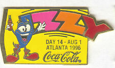 1996 ATLANTA OLYMPIC COCA COLA DAY PIN 14 FOR BOTTLE PUZZLE SET IZZY