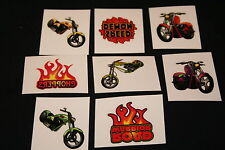 18 x Bike Tattoos Great for Kids Parties or Stocking Fillers