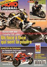 MOTO JOURNAL 1200 Essai Test BUELL S1 Lightning 1200 HARLEY DAVIDSON KAWASAKI KX