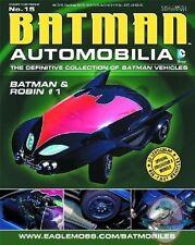 Dc Batman Automobilia Figurine #15 Batman & Robin #1 Bat Eaglemoss