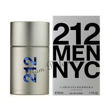 Carolina Herrera 212 For Men Eau de Toilette Spray 1.7oz 50ml * New in Box *